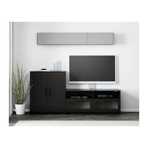 brimnes ikea brimnes tv storage combination black 200x41x95 cm ikea