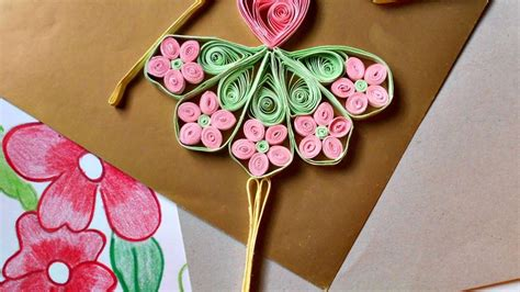 quilling girl tutorial how to make a cute quilled dancing doll diy crafts