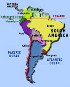 map of south america with equator peru is just south of the equator compassion