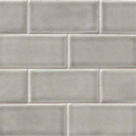 subway tile dove gray subway tile 3x6
