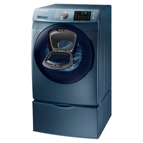 Samsung Washer Wf6200 Addwash Samsung 27 Quot 4 5 Cu Ft Front Load Washer Azure Blue Wf45k6200az