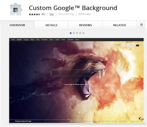 How To Search Background How To Customize Search Background In Chrome Techglimpse