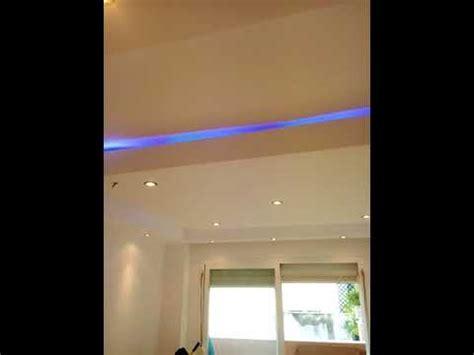 poner techo escayola poner escayola en techo con luces leds molduras y cajones