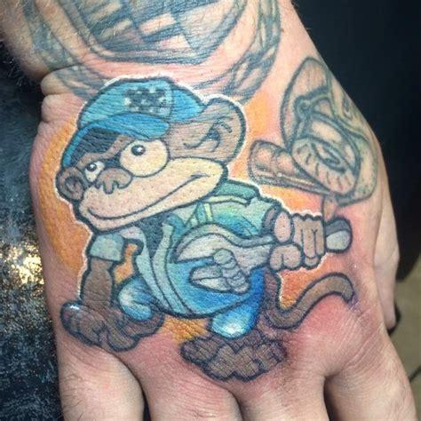 grease monkey tattoo car grease monkey honda quinn