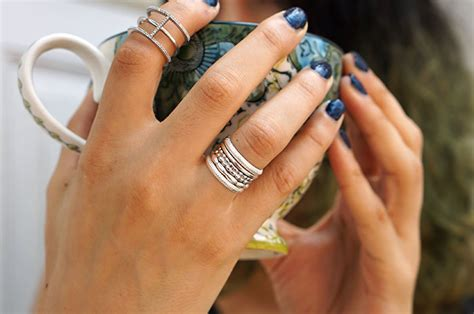 michael hill and the of stacking rings