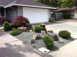 a s landscaping japanese style mini rock garden gravel base growing