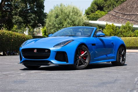 Southern Style House drivin l a with andrew chen 2017 jaguar f type svr