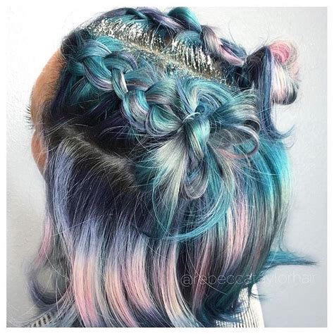 teal hair for 60 year the 25 best short pastel hair ideas on pinterest hair