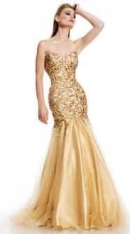 johnathan kayne 448 gold sequin mermaid dress french novelty
