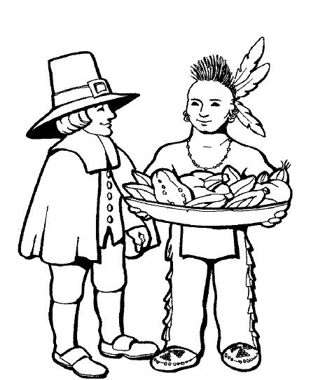 educational thanksgiving coloring pages first thanksgiving coloring page education pinterest