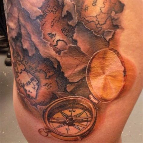 tattoo compass and map 1000 images about tattoo ideas on pinterest