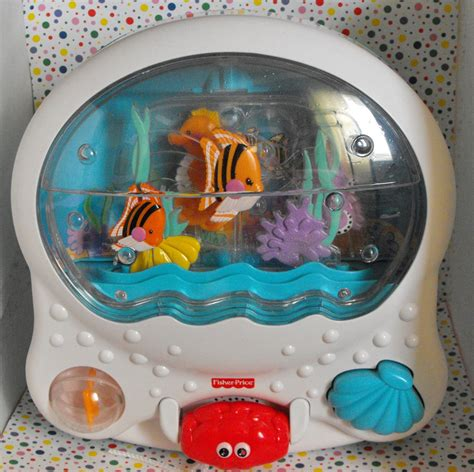 Baby Crib Fish Tank by 1 12 Sold Fisher Price Wonders Musical Aquarium