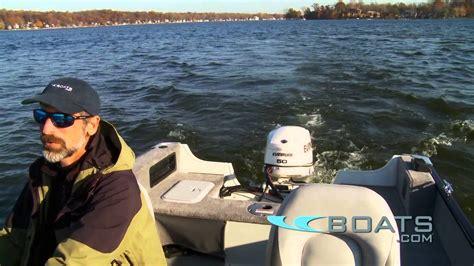 sylvan fishing boats reviews 2012 sylvan explorer 1600 dc boat review performance