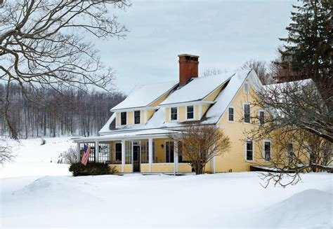 a vermont farmhouse evolves over time old house online