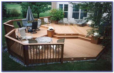 patios and decks for small backyards decks home