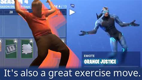 fortnite orange shirt kid fortnite added the orange shirt kid justice is
