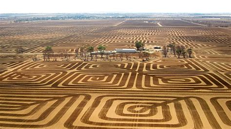 Fighting Architecture And Design Erosion | australian farmer fights erosion with a patchwork of