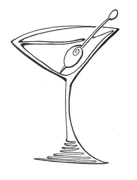 martini cartoon free martini glass clip art pictures clipartix