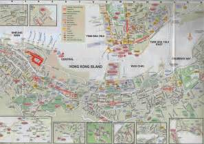 map big maps of hong kong tourist transport and maps