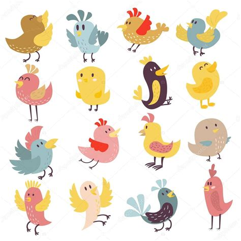 Lcute Set 3in1 Pigeons birds drawing www pixshark images galleries with a bite