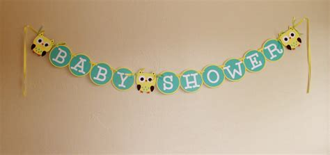 How To Make A Baby Shower Banner by Baby Shower Banner Baby Shower
