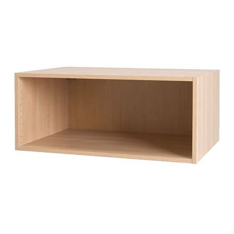 akurum wall top cabinet frame birch effect 36x15 quot ikea