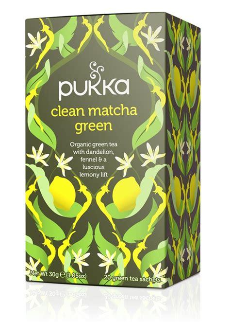 Pukka Detox Tea With Lemon by Clean Matcha Green Tea Pukka Herbs
