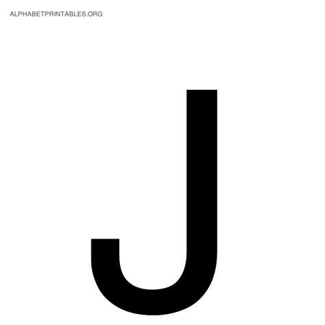 J Letter Alphabet Letter J