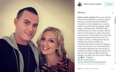 seven year switch s tallena and brad tie the knot in brad and tallena speak out about seven year switch tv week