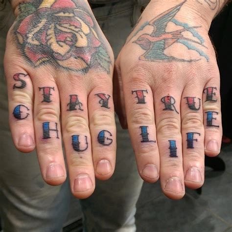 finger tattoo design 90 imaginative finger tattoos for the unashamed
