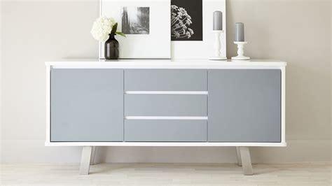 assi white gloss sideboard modern white  grey sideboard