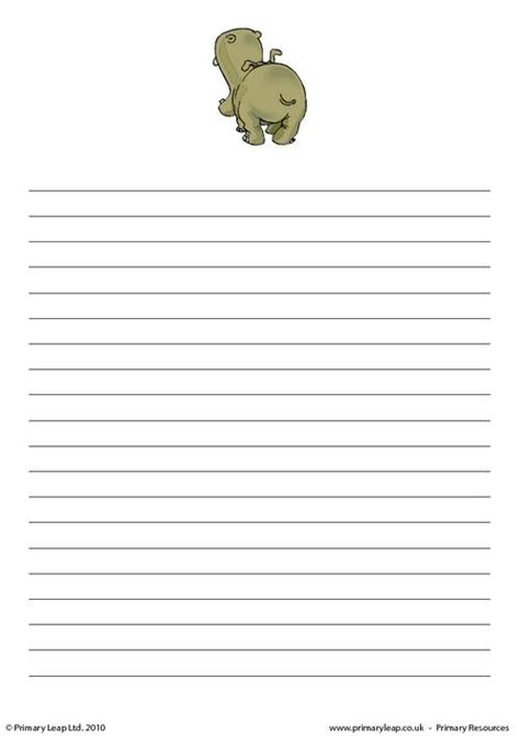 writing paper uk hippo writing paper 1 primaryleap co uk