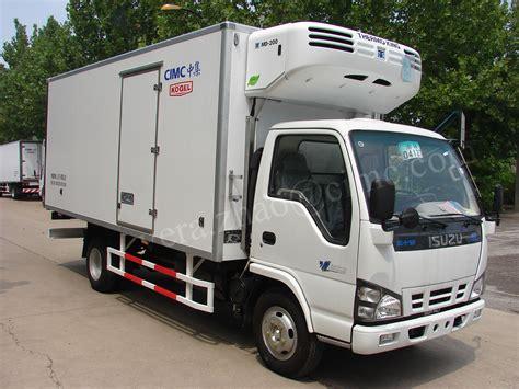 truck hton va jg5040xlc4 1 5ton 4 2 isuzu refrigerated cargo trailer