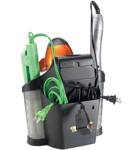 Hair Dryer Caddy hair care caddy in hair dryer holders