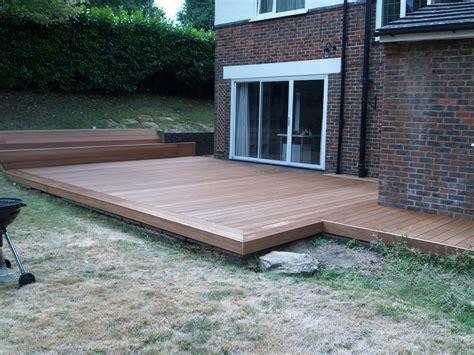 Wood Patio Hardwood Decking