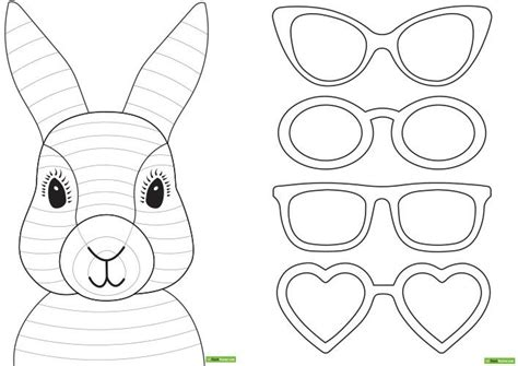 easter bunny craft template 617 best images about thema kuikens en kippen pasen on