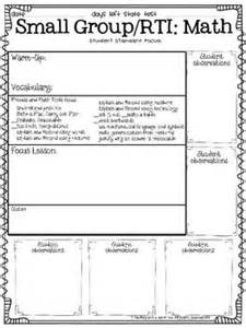 reading intervention lesson plan template lesson plan templates lesson plans and note on