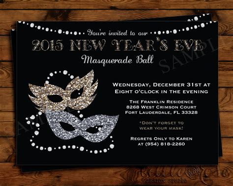 invitation card design new year chic new years eve invitation card design with bling bling