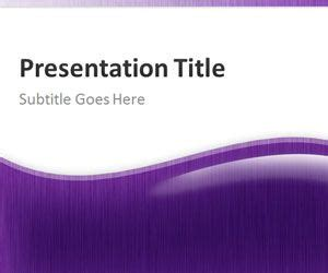 Purple Abstract Powerpoint Template Powerpoint Templates Free Violet