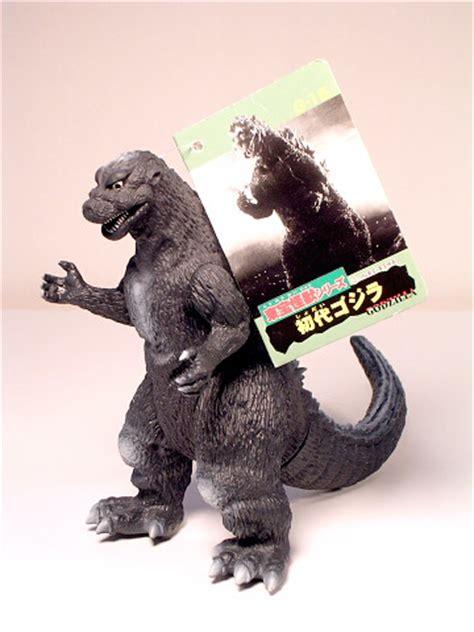 Godzilla Bandai 1998 Figure Kaiju toho kaiju godzilla 1954 figure green tag 1998