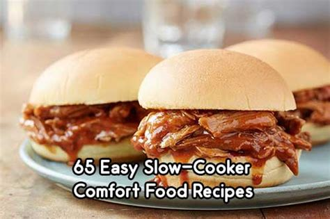 Easy Comfort Food Recipes by 65 Easy Cooker Comfort Food Recipes Iseeidoimake