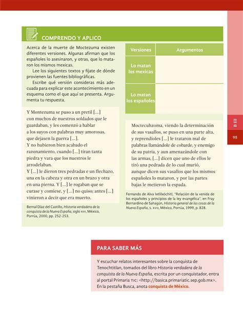 historia 5 ao pagina contestada 109 libro de historia contestado 5 ao libro de historia