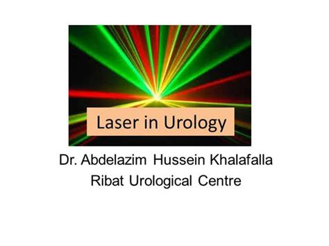 templates powerpoint urology laser in urology authorstream