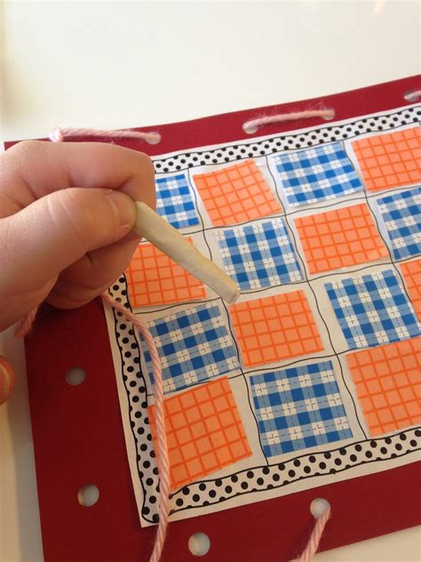 quilt pattern activities q day for preschoolers love this quilting activity