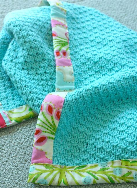 edging for knitted blanket casapinka baby blanket