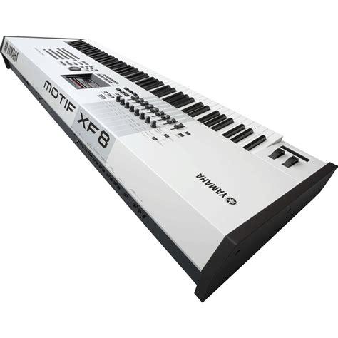nearly new yamaha motif xf8 keyboard workstation limited edition