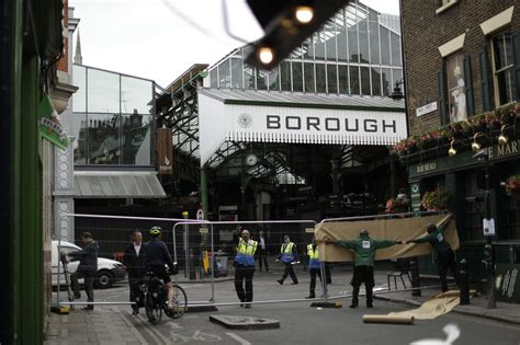 Top Bars Covent Garden Borough Market Traders Hit With Losses After London Bridge