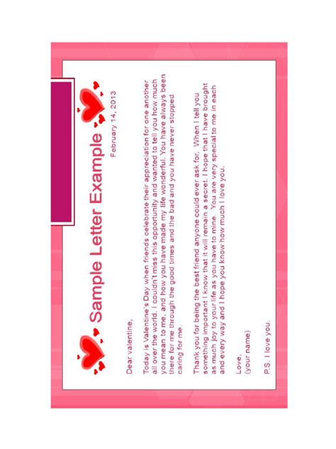 s day letter template s day letter templates 6 free templates in pdf word excel