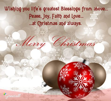 peace joy faith  love  merry christmas wishes ecards