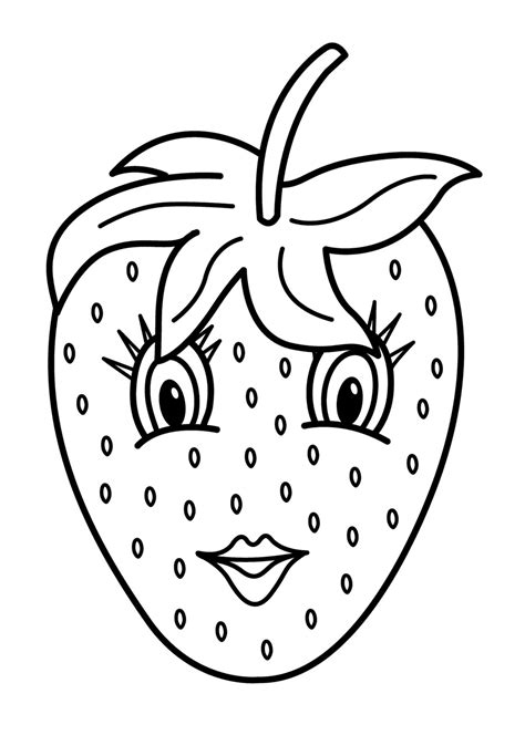 kawaii fruit coloring pages fruits coloring pages printable